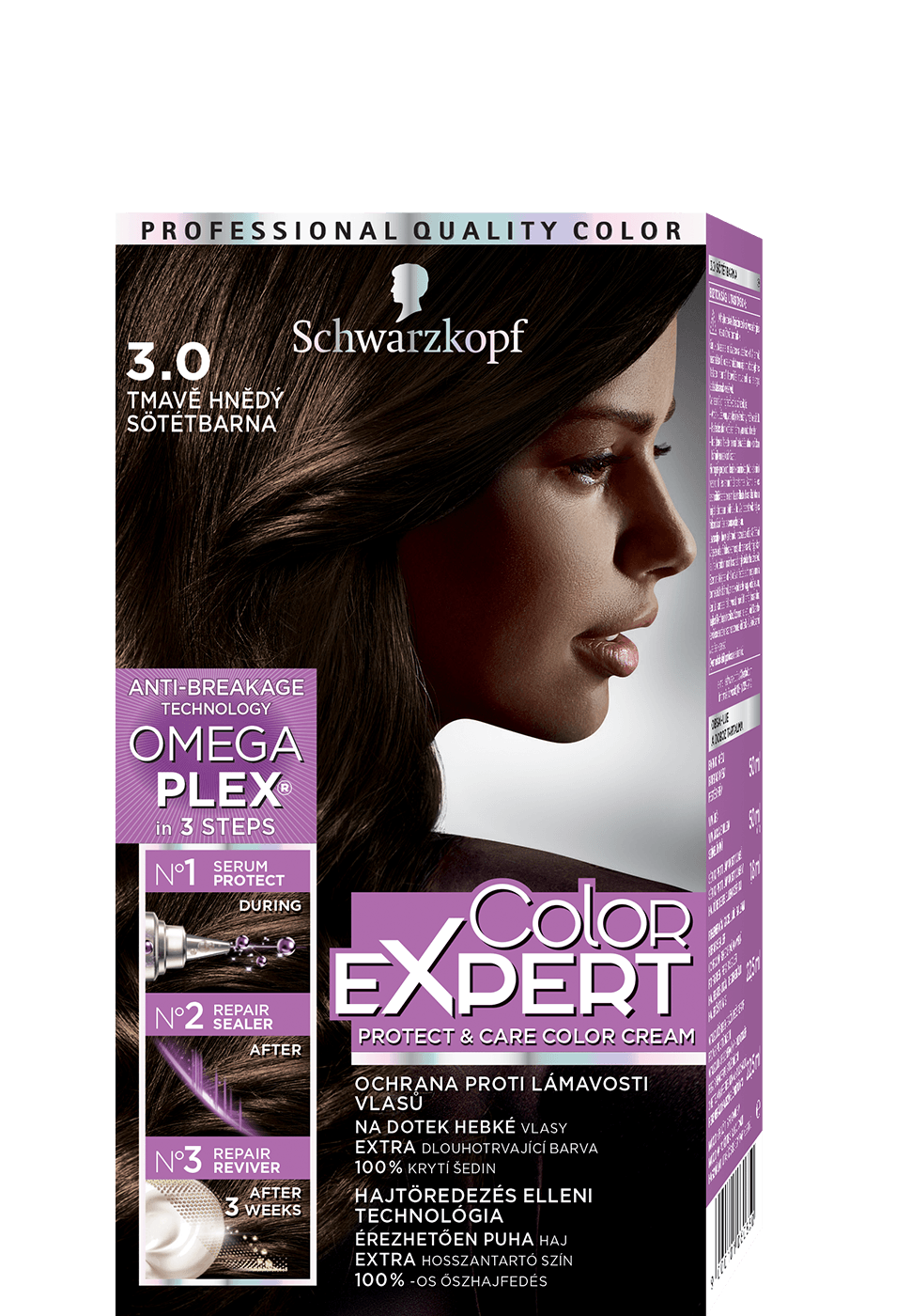 Color Expert Color Creme 3-0 Ultra Dark Brown