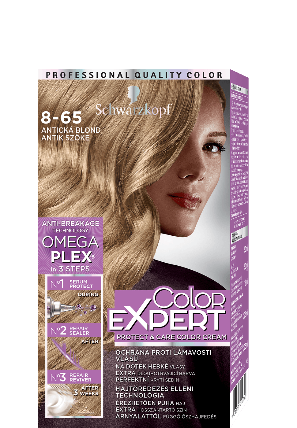 Color Expert Color Creme 8-65 Antická blond