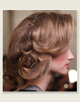 Casual Gatsby-Style Updo